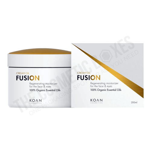 Custom cosmetic packaging (Cream packaging)