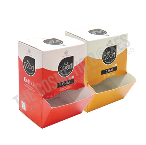 cosmetic packaging (Lip Balm Boxes)