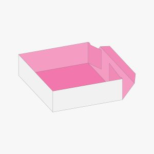 boxes style Four Corner Tray