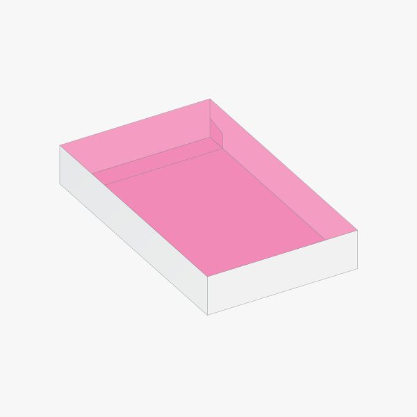 boxes style Double Wall Auto Lock Tray