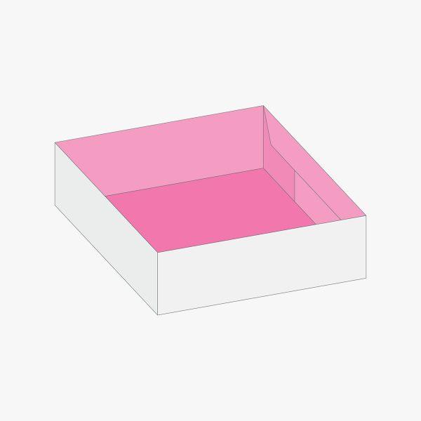 boxes style Four Corner Tray