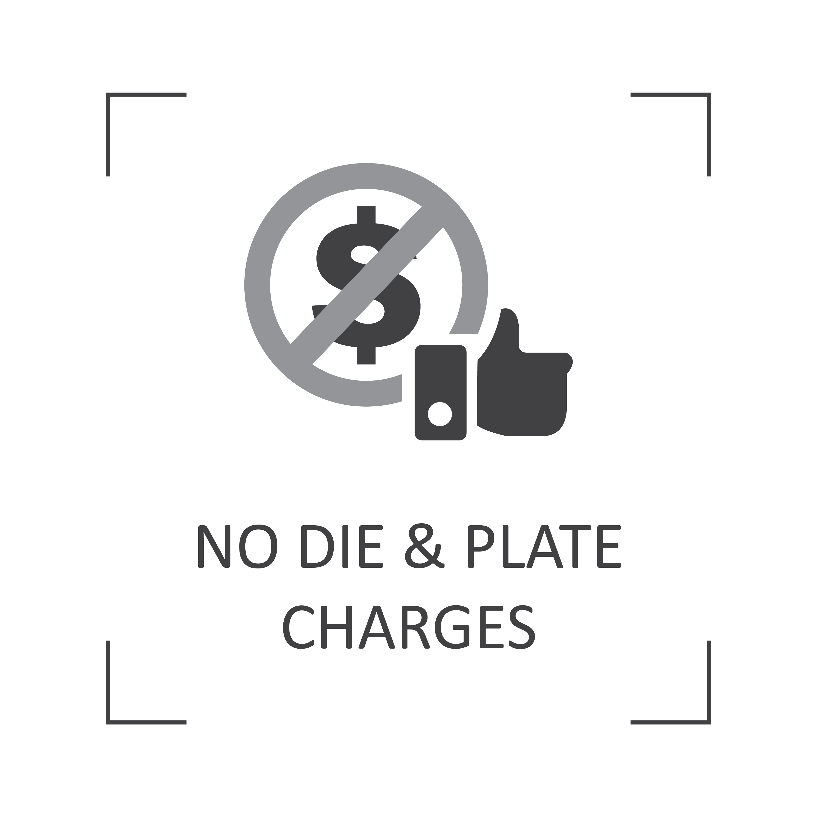 No die & plate charges