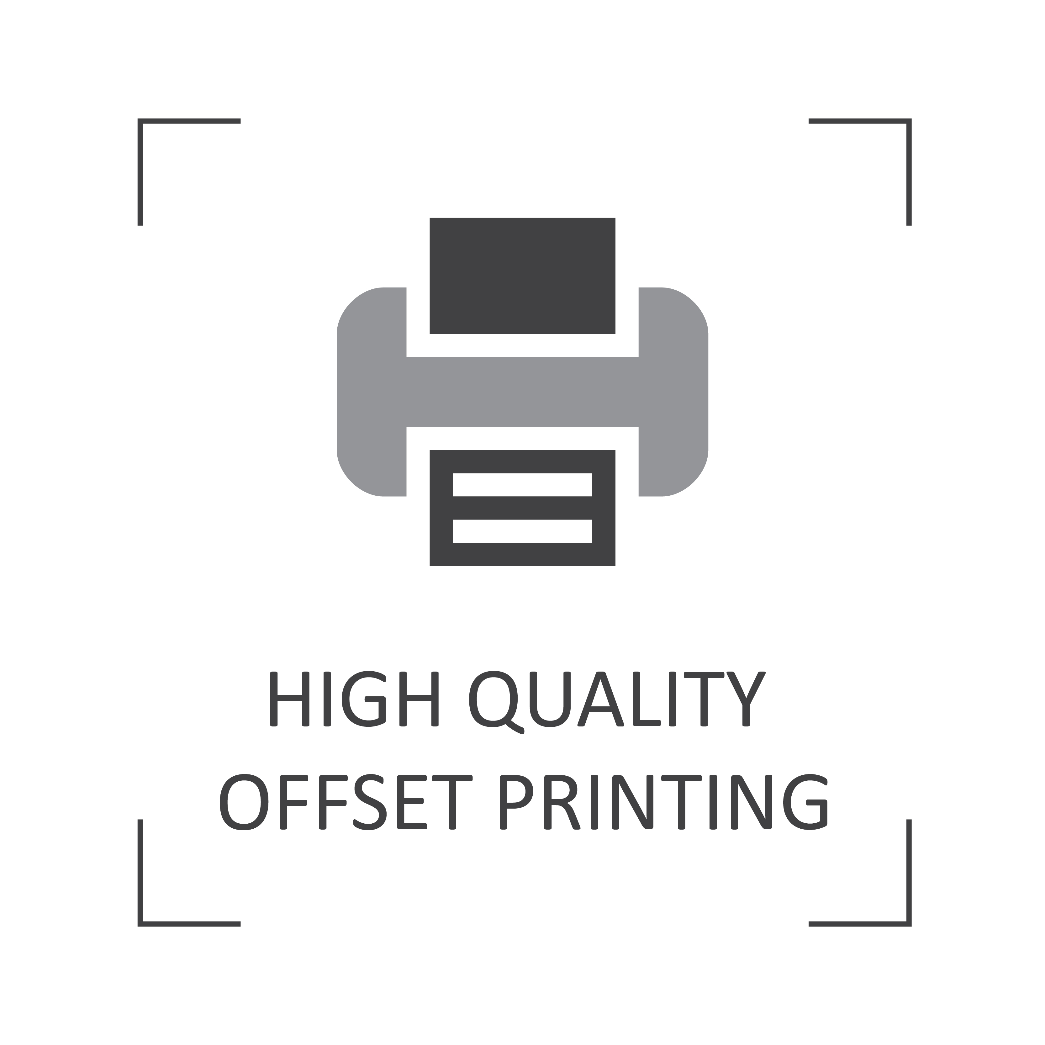 High quality offset printing