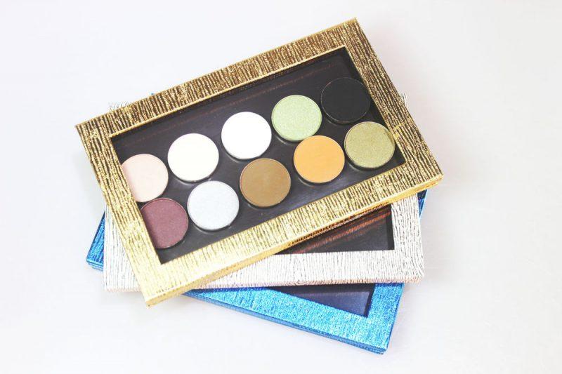 Collection of eyeshadow colors (eyeshadow boxes2)