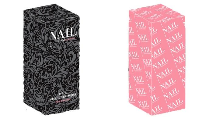 nail polish with perfect packaging
