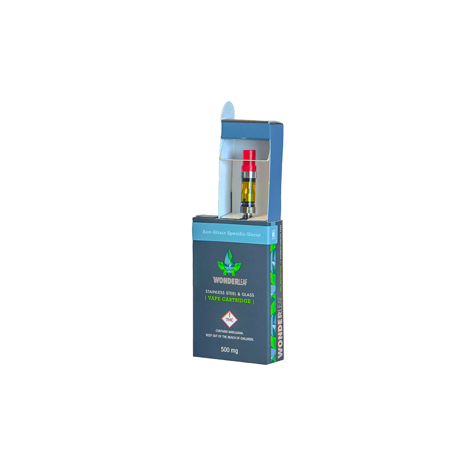 Retail Packaging (vape cartridge packaging)