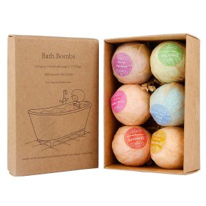 Retail Packaging (bath bomb boxes)