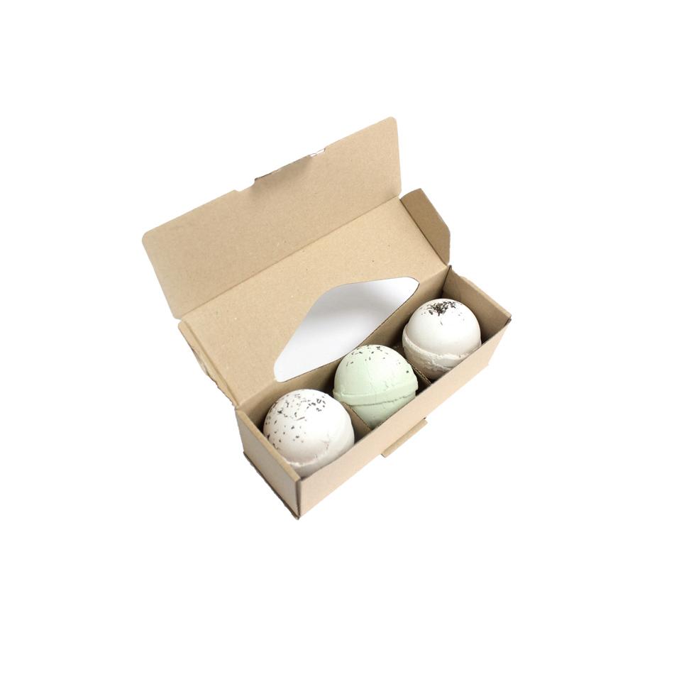 Retail Packaging (custom bath bomb packaging)