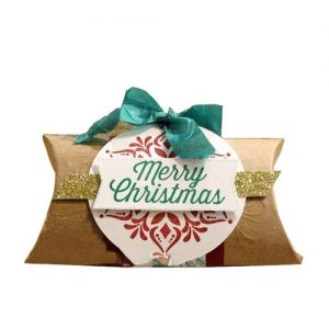 custom christmas pillow boxes
