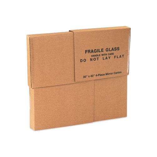 Custom Mirror Packaging Boxes