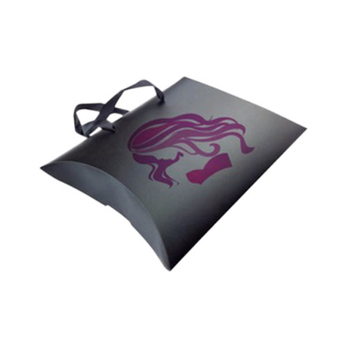Custom Printed Pillow Hair Extension Boxes