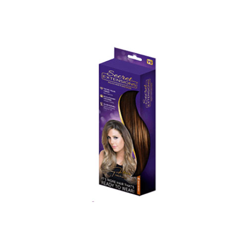 Custom Hangable Hair Extension Boxes